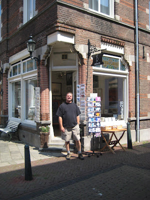 Roland Lee at Atelier 28 in Tholen Zeeland Netherlands