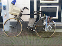 Tech bike in Netherlands