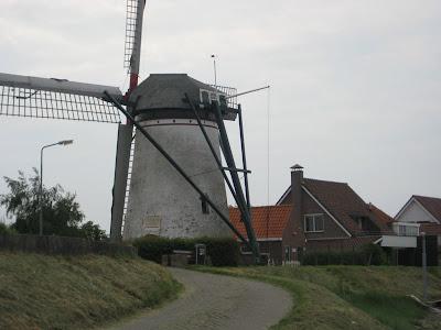 Windmill in St. Annaland Zeeland