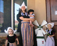 Photo of traditional dutch clothing
