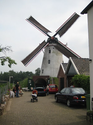 De Volharding windmill in Holland