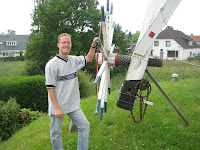 Remco Harmsen owner of De volharding windmill in Zeddam Holland