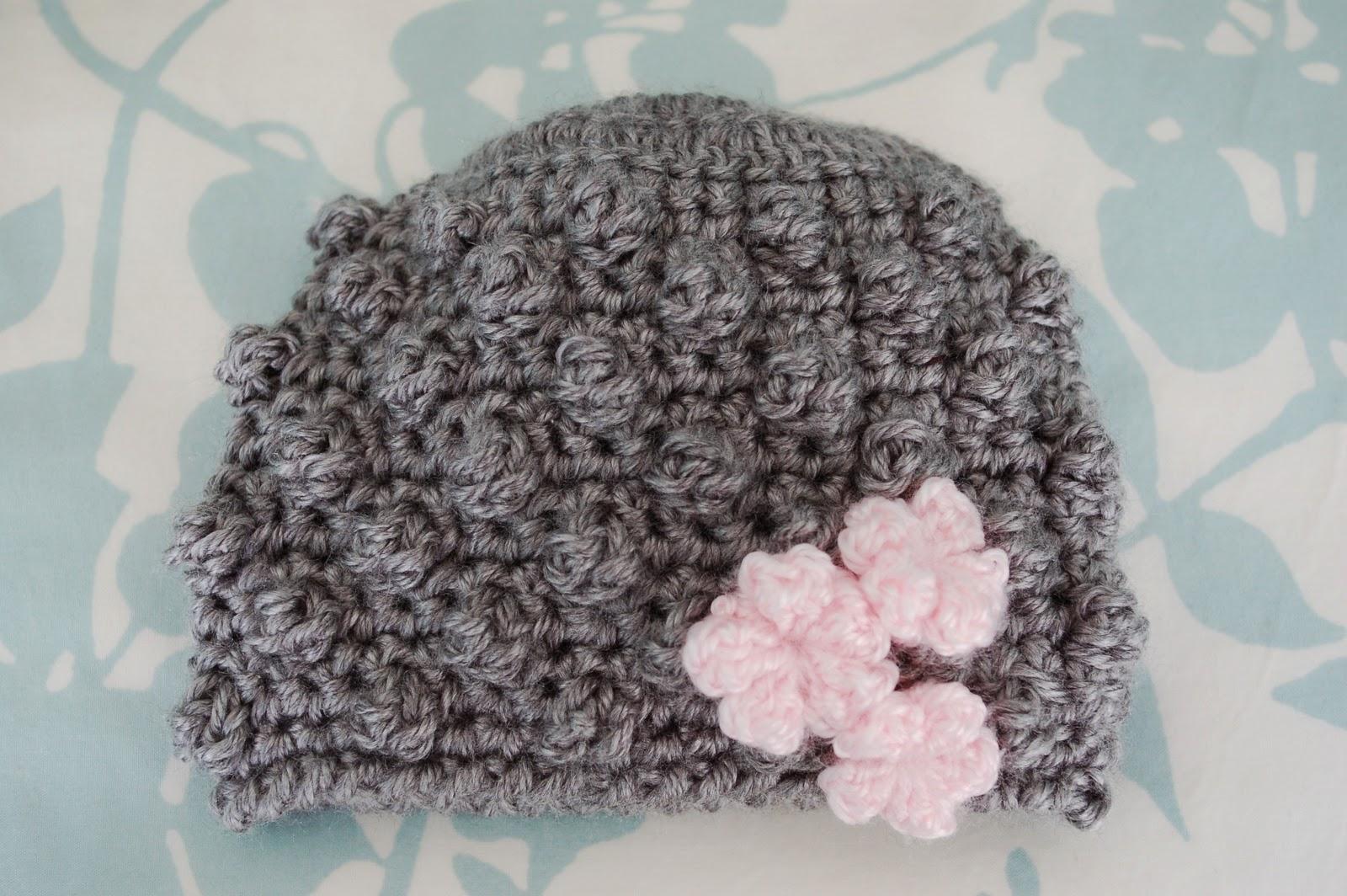 Alli Crafts  Free Pattern  Bobblicious Baby Hat 7b3ddad6991