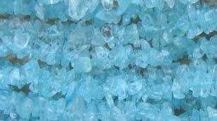 aquamarine beading chips