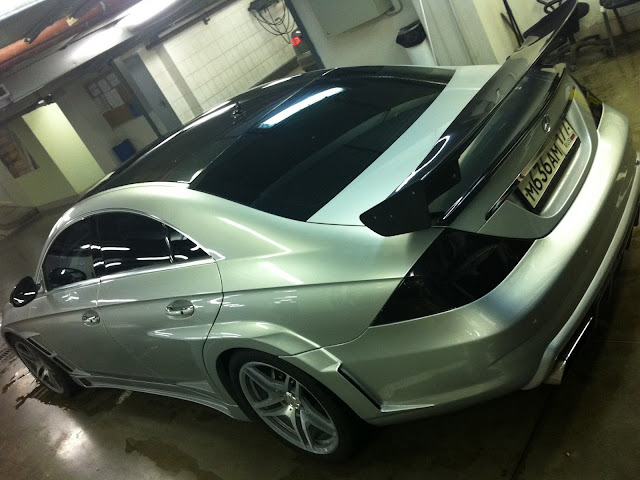 mercedes cls 219 body kit