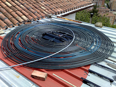 Placa solar termica segunda mano good en amazon - Placa solar termica ...