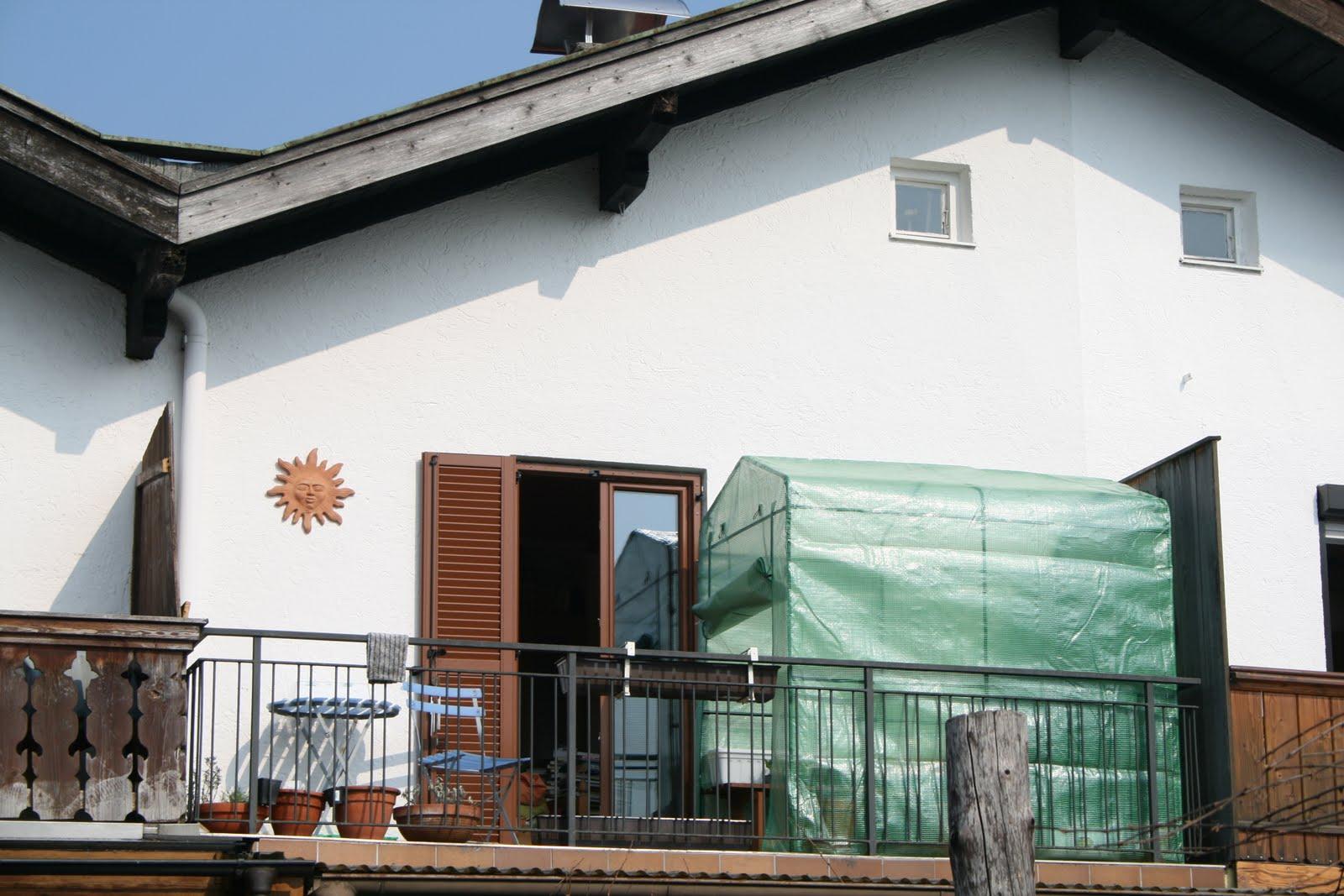 die ber lebens k nstlerin ein balkon garten entsteht teil 2. Black Bedroom Furniture Sets. Home Design Ideas