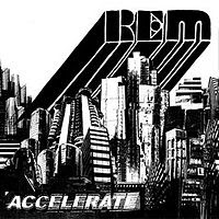 accelerate album cover picture r.e.m.