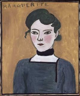 Henri Matisse Marguerite painting