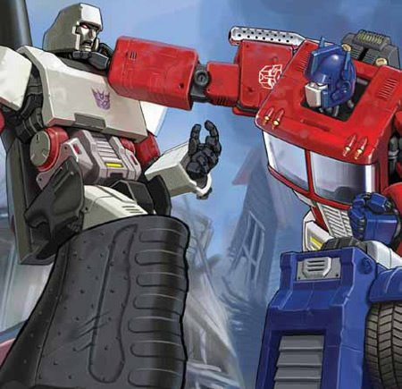 megatron vs optimus prime