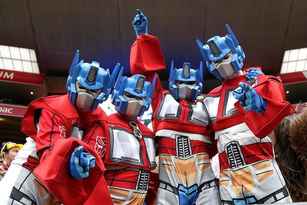optimus prime sevens cosplay