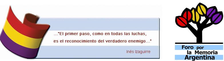Foro por la Memoria - Argentina.