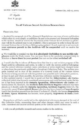 vaticansecret3 Secret Archives of the Vatican