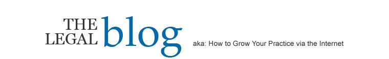 The Legal Advertising Blog