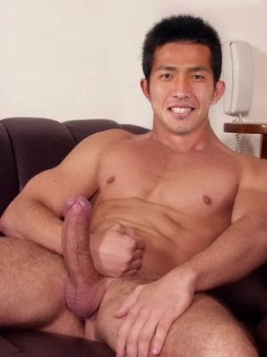 Hunk gay asian