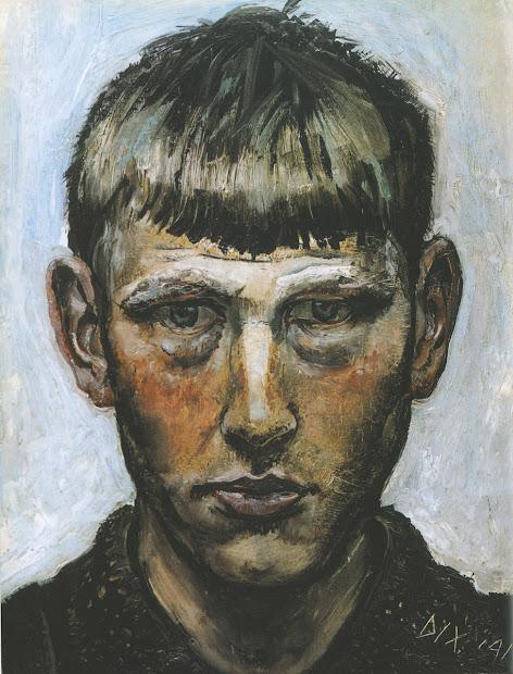 Otto Dix Self Portrait