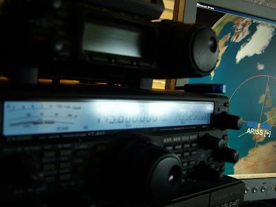 Ham Radio: NOAA-15, AO-51, VO-52 & ISS In Range With The
