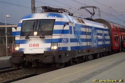 Αυστριακό τραίνο αλά… Euro 2008