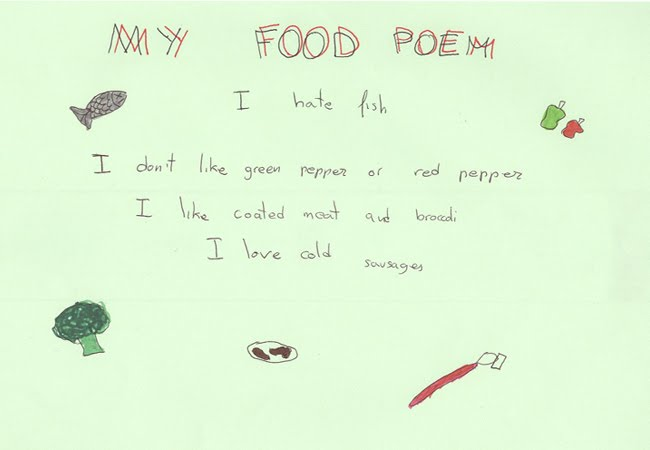 ode poems about food - photo #30