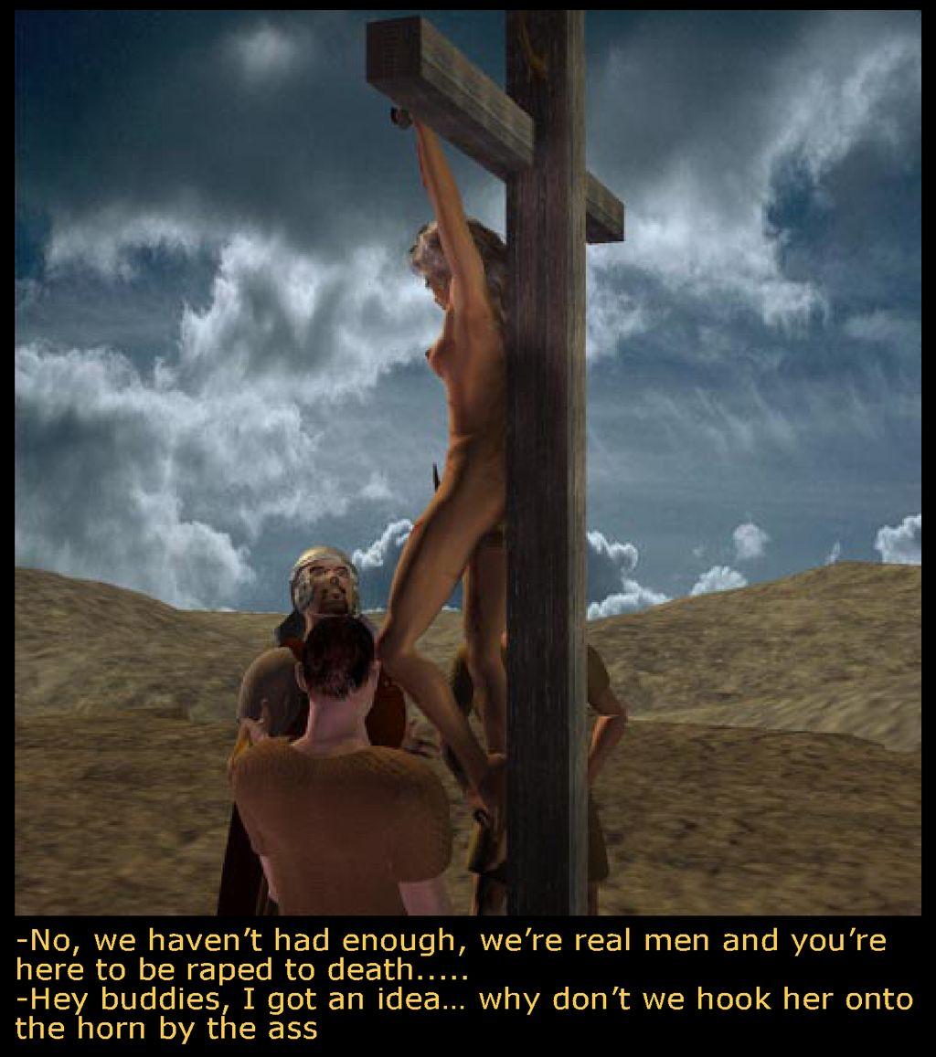 maggie marcus crucifixion