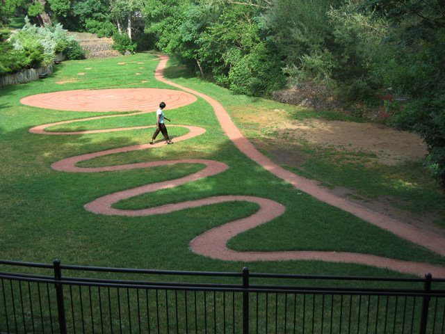 Grillo Center Labyrinth