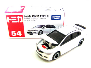 George Tomica Diecast Toy Car Tomica Honda Civic Type R