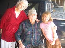 Nanny, Pappaw, & Audrey