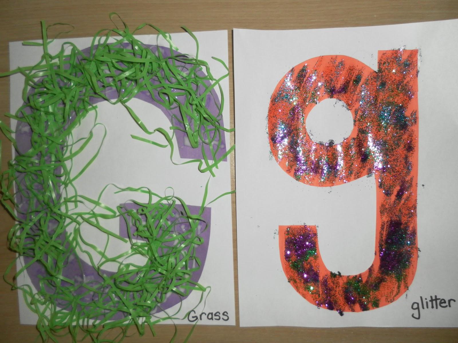 Letters Gh Preschool Ideas