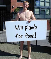Will plumb for food!