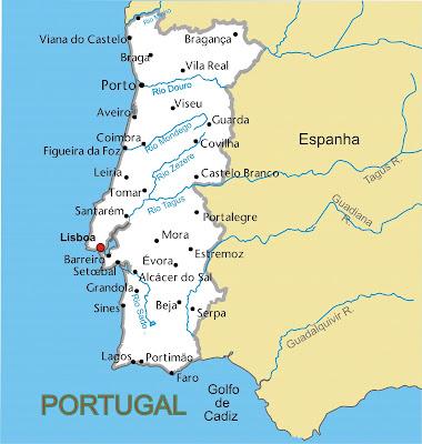 Fargrafica Bh Mapa Portugal Politico Vetor Corel X3