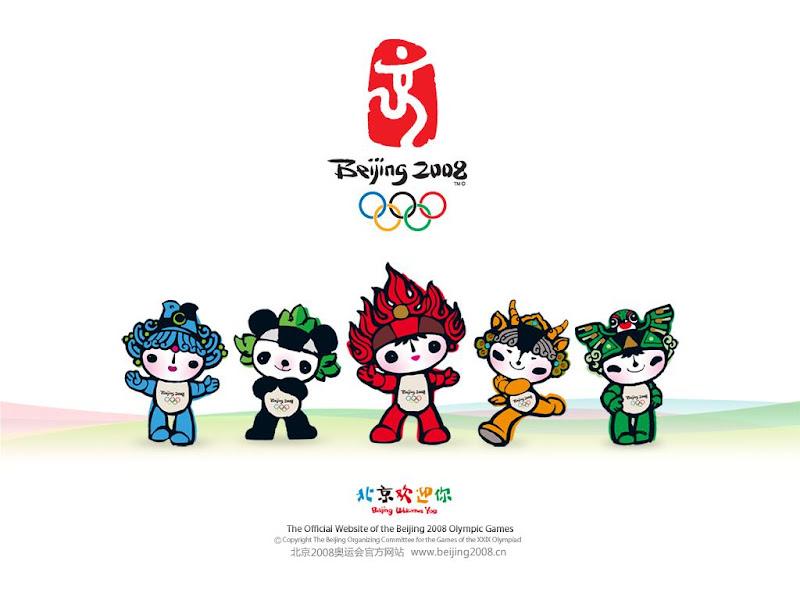 Mascotes Olímpicos de Beijin