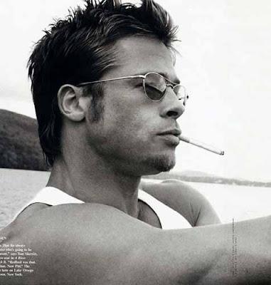 brad pitt hairline. Brad Pitt hairstyle