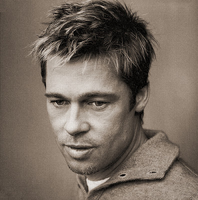 Handsome Haircut from Brad Pitt