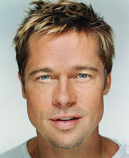 Brad Pitt choppy hair