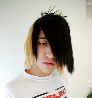 Emo hair cuts for guys