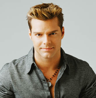 Image result for ricky martin blonde