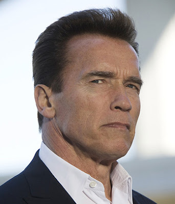 Arnold is one of the men who popularized flattop hairstyle in the United