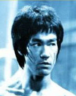 Action Short Hairstyle From Bruce Lee