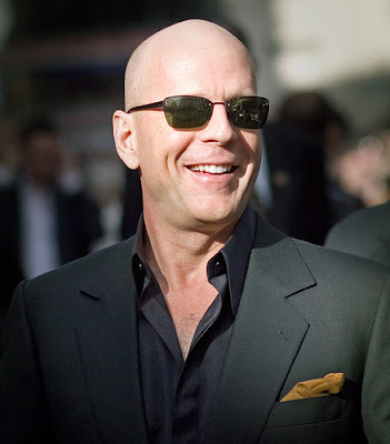 Bruce Willis Balding Hair Men's Hairstyles