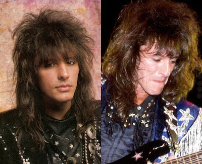 Face Shape Richie Sambora Hairstyles - hairstyle as the bangs In 1980s