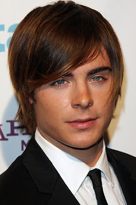 Hairstyles for Men with Short Hair Zac Efron