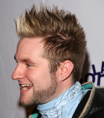 Cool Male Hairstyles of Blake Lewis