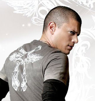 Wentworth Miller hairstyle