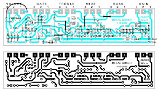PCB layouts for diy stompboxes: February 2009