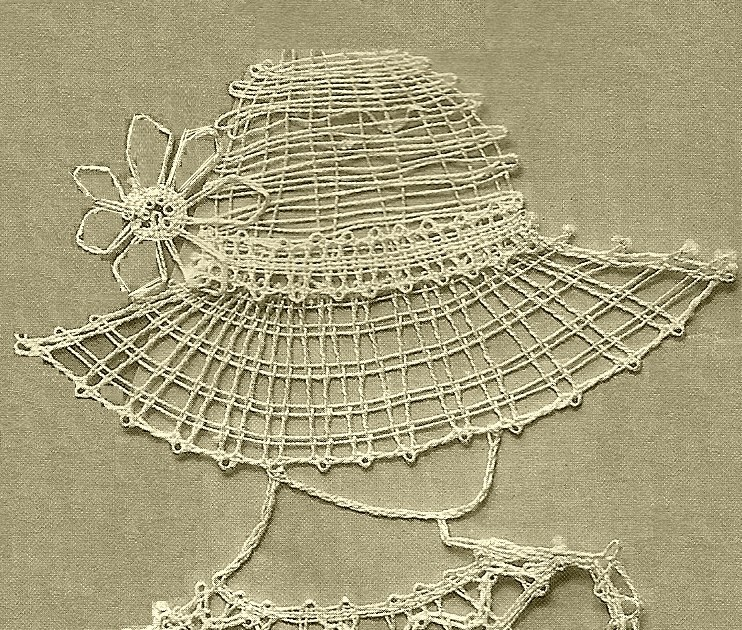 Handcraft Blog Easy Bobbin Lace Pattern For Beginners