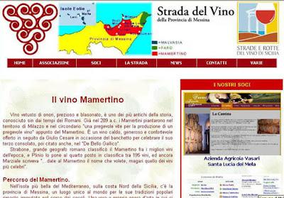 La Strada del Vino della Provincia di Messima - Mamertino