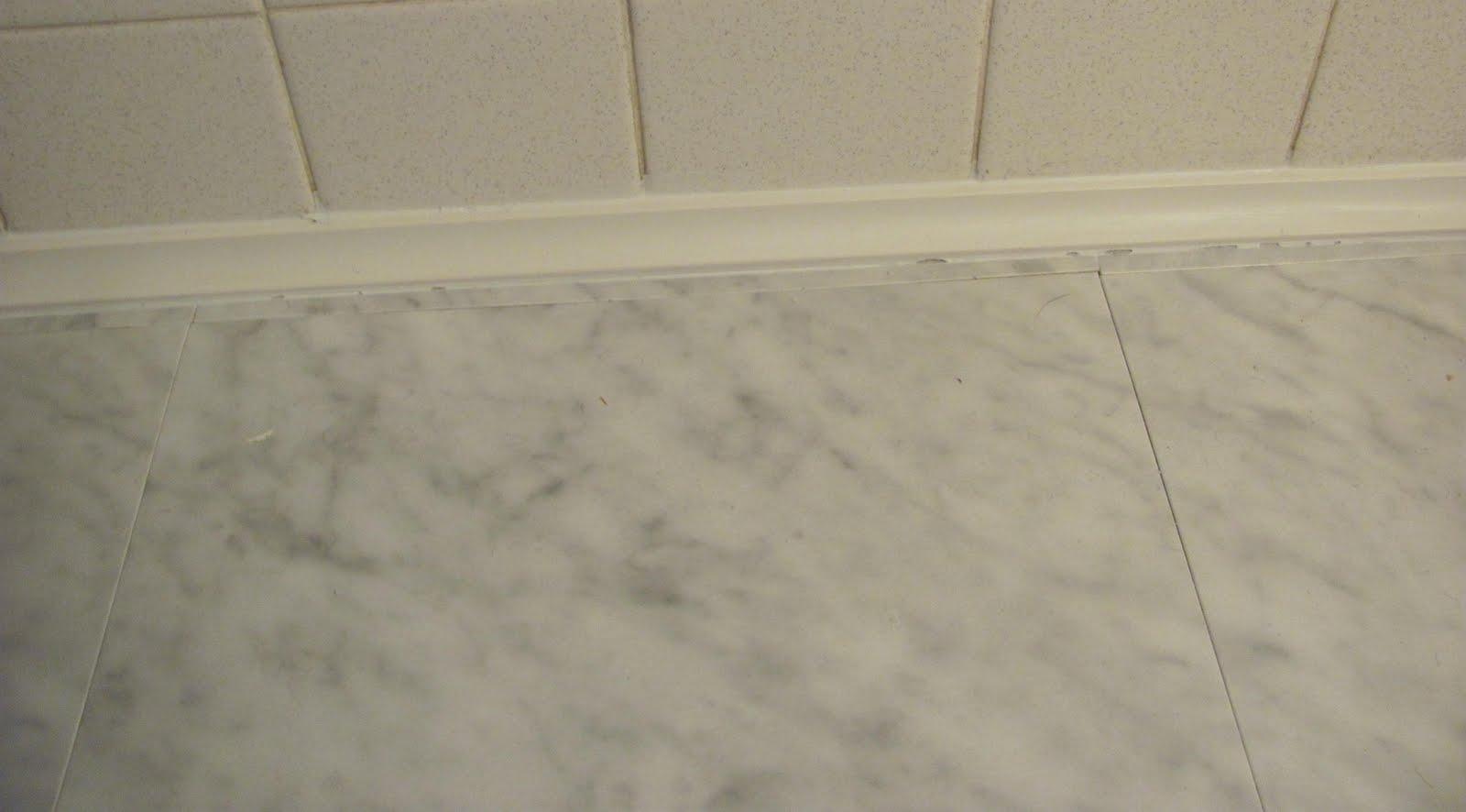 THE PATTERSON ADVENTURES: Bathroom Floor Trim