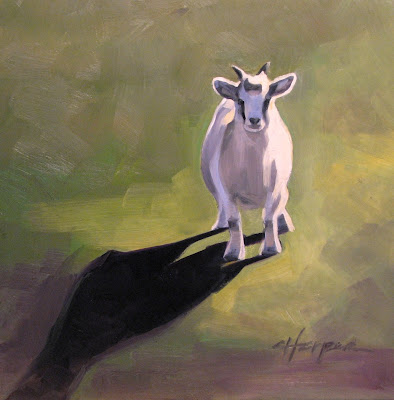 Little Baby Goat by Cristall Harper