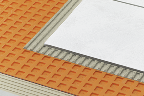 Schluter-DITRA Tile Underlayment - Home Construction ...