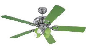 picture of green ceiling fan